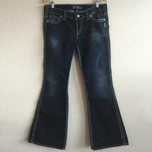 53% off Silver Jeans Denim - Silver Jeans 💗 Frances 22 Dark Wash ...