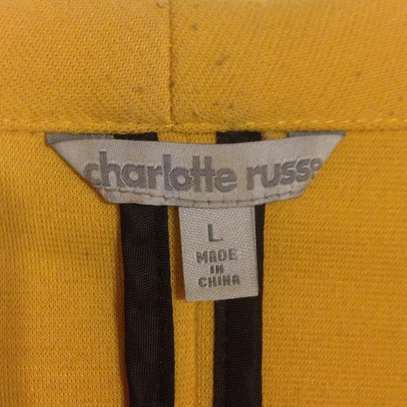Charlotte Russe Jackets & Coats - Mustard Blazer Charlotte Russe