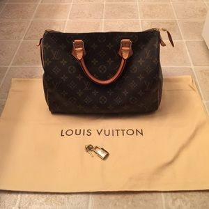 Louis Vuitton Handbags - Sold LV SPEEDY 30 SOLD LOCALLY!!
