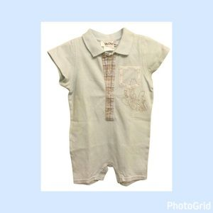 Dior Other - Authentic Baby Dior one piece romper outfit sz 12m