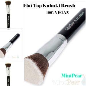 Mint Pear Beauty Other - 🍃MintPear 💄100% VEGAN🍃Flat Top Kabuki Brush