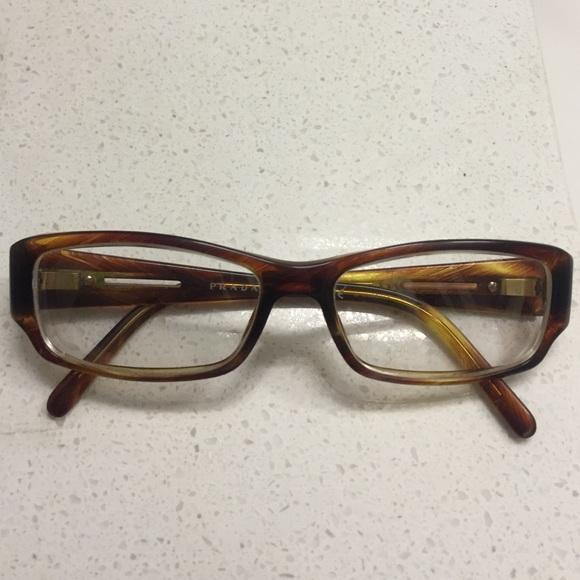 Prada Gold Frame Glasses : 86% off Prada Accessories - AUTH Prada glasses frames ...