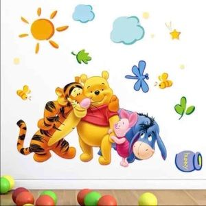 NEW Winnie The Pooh Wall ART
