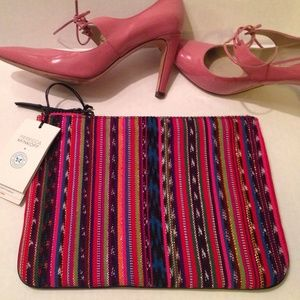 Rebecca Minkoff Handbags - Rebecca Minkoff Collaboratively Made Clutch - NWT