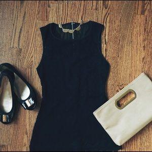 Express Black Lace Sleeveless Top - Size XS
