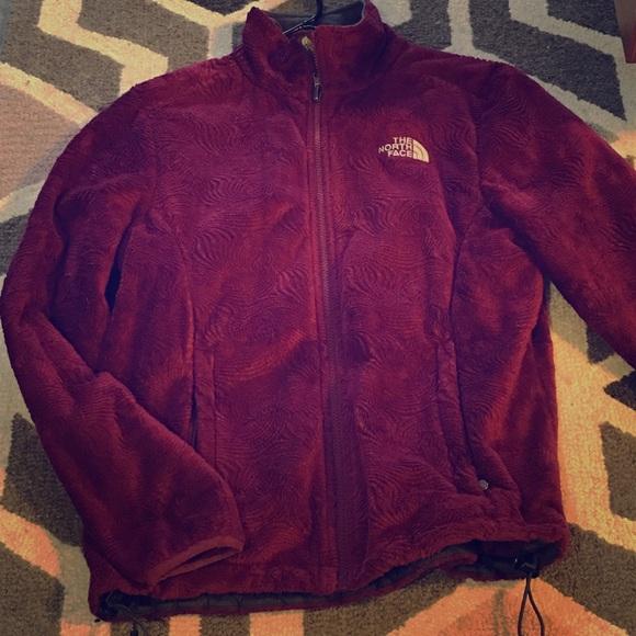 d68ba7981 Rare North Face jacket! Maroon Novelty Osito.