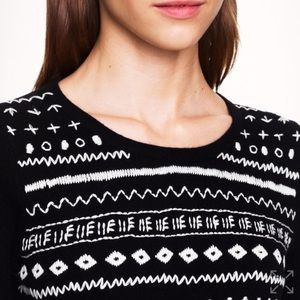 J. Crew Sweaters - J.Crew tippi sweater in embroidered stripe
