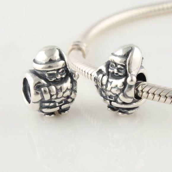 55 pandora jewelry quot silver santa quot pandora charm