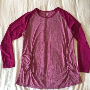 Maternity Activewear Baseball T-Shirt XL