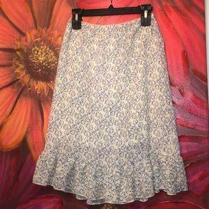 Dresses & Skirts - Ruffle midi skirt