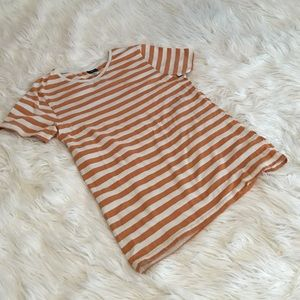 H&M striped top | size medium