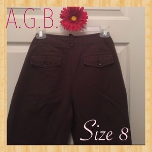 AGB Pants - UberSweet Chocolate Brown AGB Pants