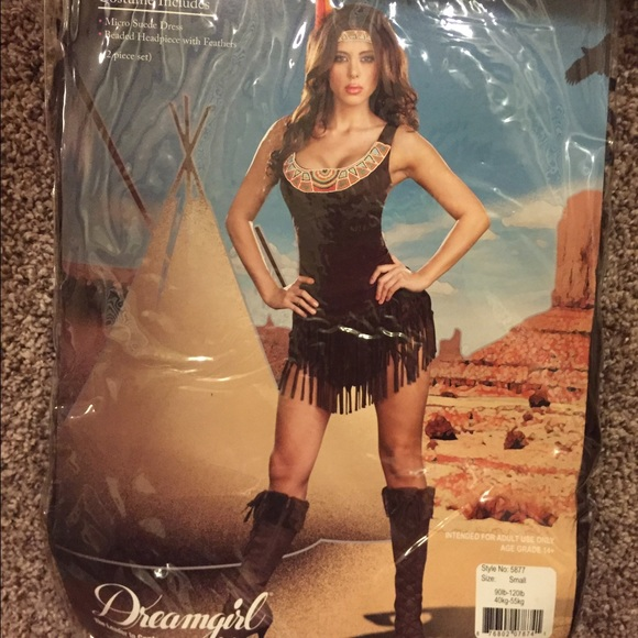 91c1c0d9b6c Dreamgirl Dresses   Skirts - Dreamgirl Pocahontas Indian Princess Costume