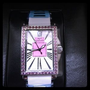 Aquaswiss Accessories - AQUASWISS White Kelly Semi-Precious Stone Watch
