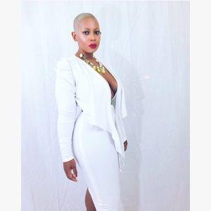 Dresses & Skirts - Custom Made White Dress💋