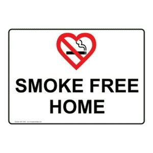 Accessories - Smoke free home