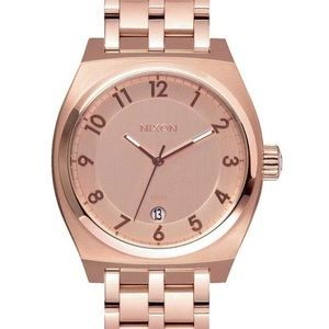 Nixon Monopoly All Rose Gold Watch