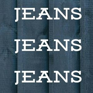 Denim - ALL AVAILABLE JEANS ARE LISTED BELOW
