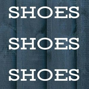 Shoes - ALL AVAILABLE SHOES ARE LISTED BELOW
