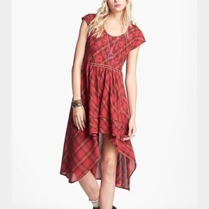 SOLD Free People Plaid dress