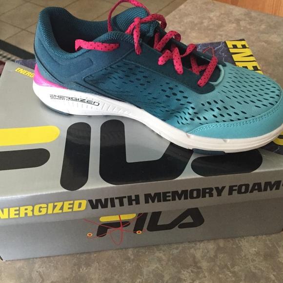 najlepsza moda produkty wysokiej jakości niezawodna jakość Women size 7 1/2 FILA Energized with memory foam