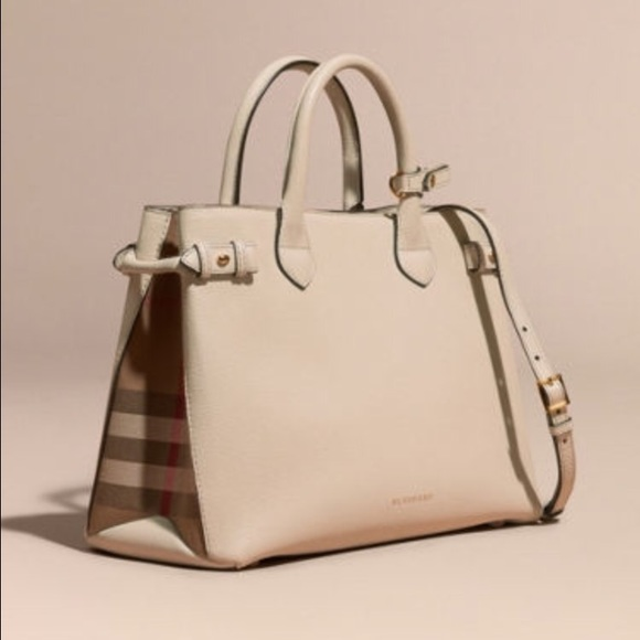 7ced7b262ab Burberry Handbags - Authentic Burberry leather banner bag