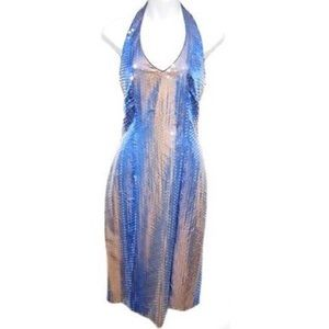 🍸Kay Unger Ombré Sequined Dress🍸