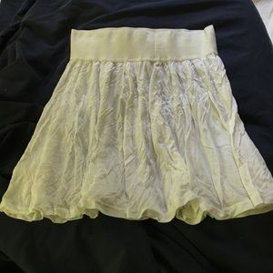 635e70f56 Divided Skirts | White Hm Flowy Short Skirt | Poshmark