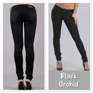 Black Orchid Denim - Black orchard black jewel skinny jeans jogging 25