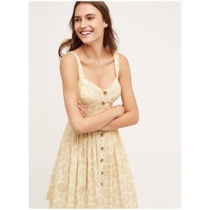 last oneAnthropologie cafe dress