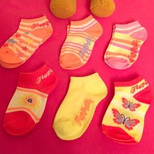 Flapdoodles Other - Flapdoodles Toddler Socks, 6 Pairs