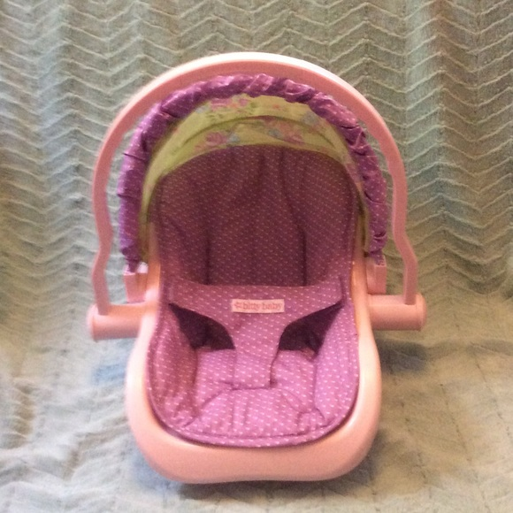 AMERICAN GIRL Bitty Baby Car Seat Carrier