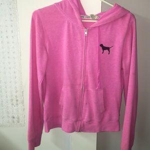 VS pink sweatshirt size L