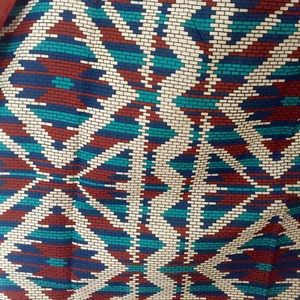 Vintage Patterned Scarf -- Cute Retro Style!