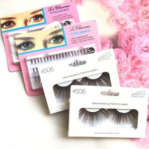 Other - 5pc Eyelash Kit and extensions