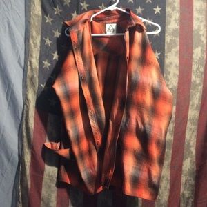 Unif flannel size medium