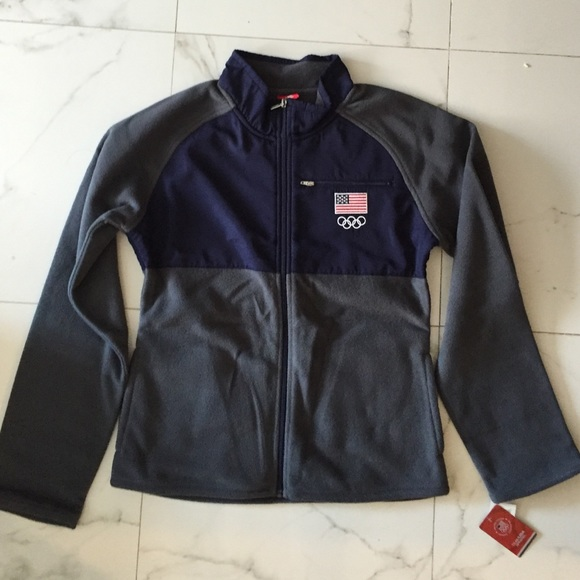 36% off Jackets &amp Blazers - Team USA Fleece Jacket from Amber&39s