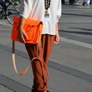 The Cambridge Satchel Company Handbags - Like New the leather satchel company neon orange