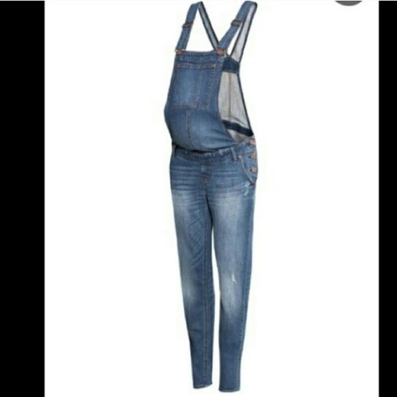 79f4ebf9a4d08 H&M Jeans   Hm Maternity Overalls   Poshmark
