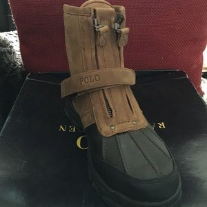 Ralph Lauren Boys Polo Boots
