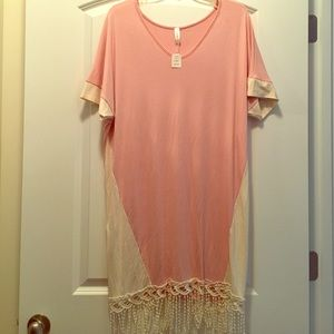 New WITH tags! Adorable boutique fringe dress.