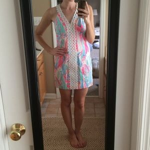 Lilly Pulitzer Lynn Shift in Out to Sea