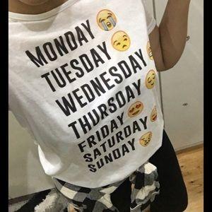 Tops - 🆕New Arrival emoji T-Shirt