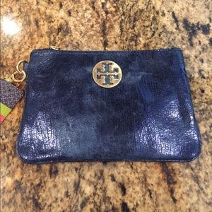 Tory Burch Metallic Wristlet - Price Reduced!