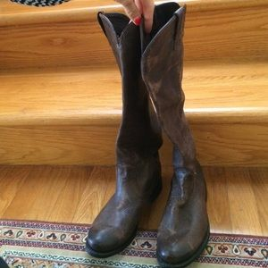 Shoes - Knee high never been worn brown leather boots