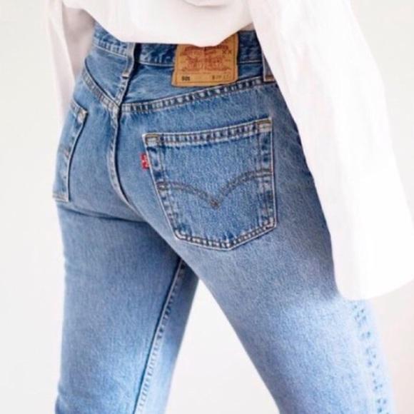 Vintage Poshmark Jeans Reformation Levis 501 RqSw4wP5n