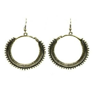 Tribal Style Hoop Earrings