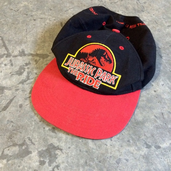 2eff15b8ace87 1997 Universal Studios Jurassic Park Ride cap. M 57bf3f8278b31c3391000aee