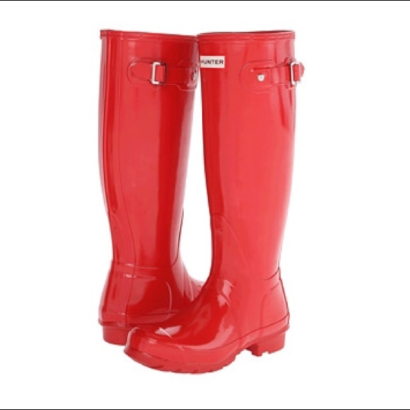 33% off Hunter Boots Shoes - Coral Hunter Rain Boots from ...