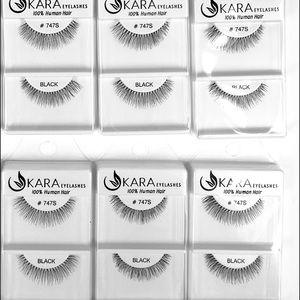 MAC Cosmetics Other - KARA Eyelashes #747S (100% Human Hair) 6 PACK